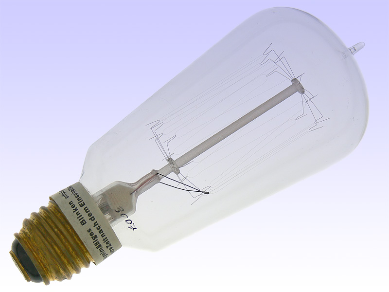 PHILIPS 220V 50W A67 Blinklampe