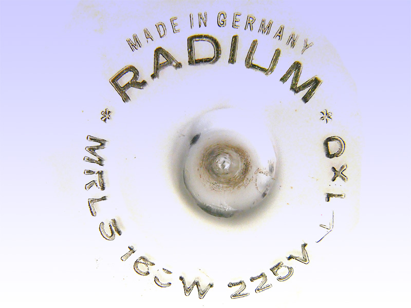 RADIUM MRLS 160W 225V 1xO GERMANY