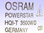 OSRAM POWERSTAR HQI-T 3500/D CE6 GERMANY
